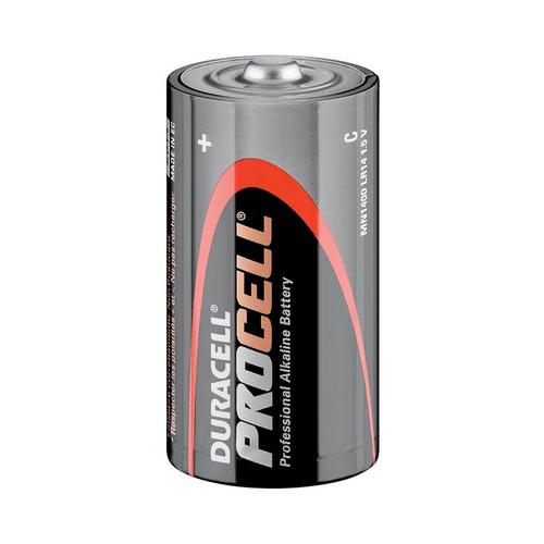 Batterij Duracell Procell C