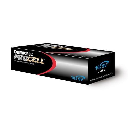 Batterijen Duracell Procell 9V doos 10 stuks