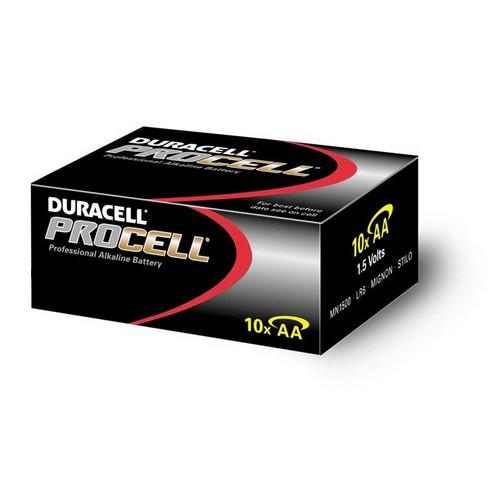 Batterijen Duracell Procell AA doos 10 stuks