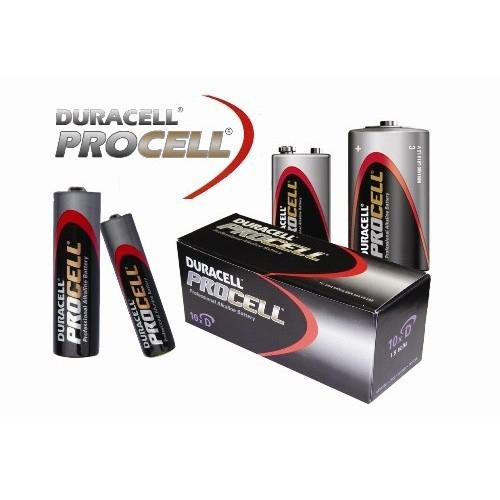 Batterijen overzicht Duracell Procell