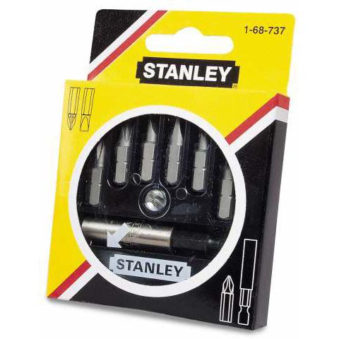 Bits assortiment Stanley 7-delig 1-68-737 | 1-68-737-6834