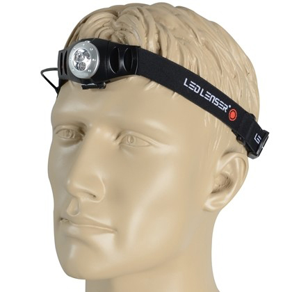 Hoofdlamp Led Lenser H3 blisterverpakking-9255