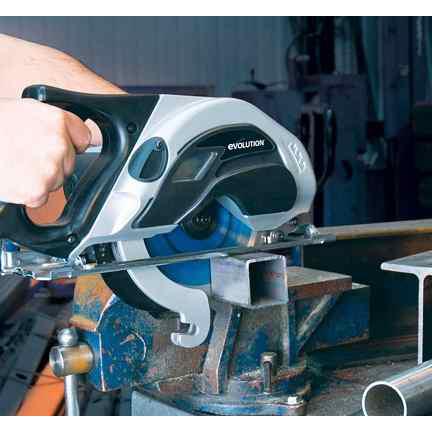 Evolution EVO180 cirkelzaag 180mm voor metaal-10725