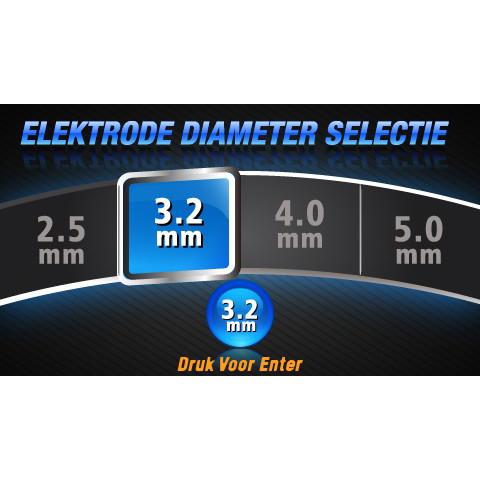 EVO MIG 200 Multi Synergic PFC LCD lasapparaat set met gasfles (MW82)-11304