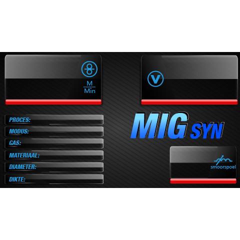 EVO MIG 200 Multi Synergic PFC Digitaal lasapparaat (MW82)-11286