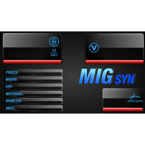 EVO MIG 200 Multi Synergic PFC LCD lasapparaat set met gasfles (MW82)-11308